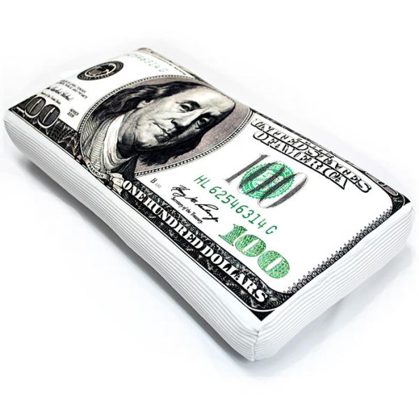 Игрушка-подушка  100 долларов  р. 42х22 - Текстиль для дома артикул: 29125