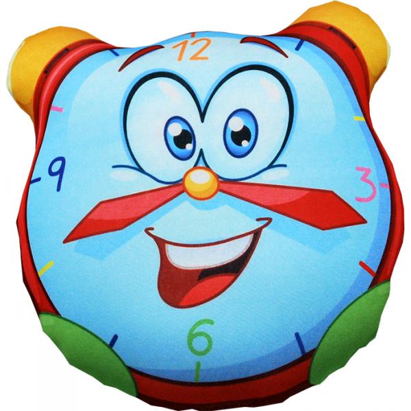 Игрушка-подушка Будильник р. 30х30Подушки антистресс<br><br><br>Тип: Игрушка-подушка<br>Размер: 30х30<br>Материал: Трикотаж