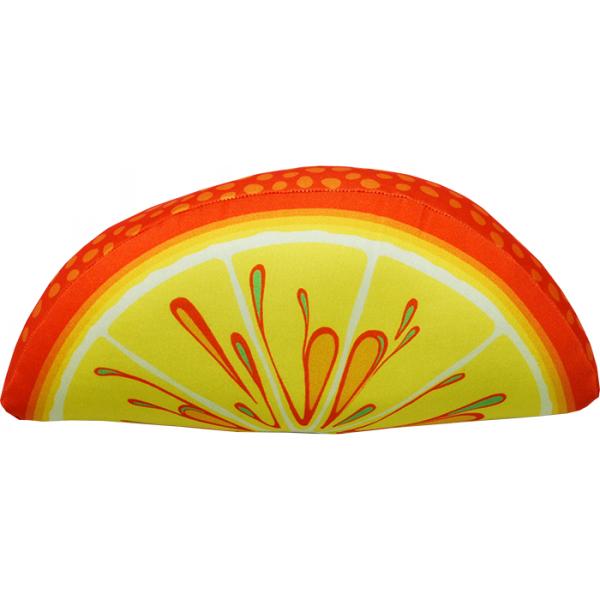 Игрушка-подушка Долька апельсина р. 28х13х9Распродажа товаров<br><br><br>Тип: Игрушка-подушка<br>Размер: 28х13х9<br>Материал: Трикотаж