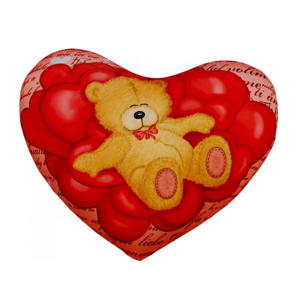 Игрушка-подушка  Сердце  р. 30х35 - Текстиль для дома артикул: 29128