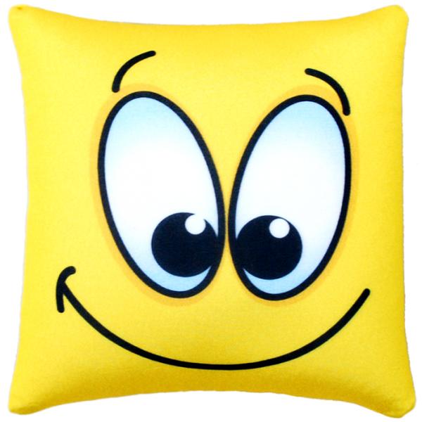 Игрушка-подушка  Смайл  р. 35х35 - Текстиль для дома артикул: 29129