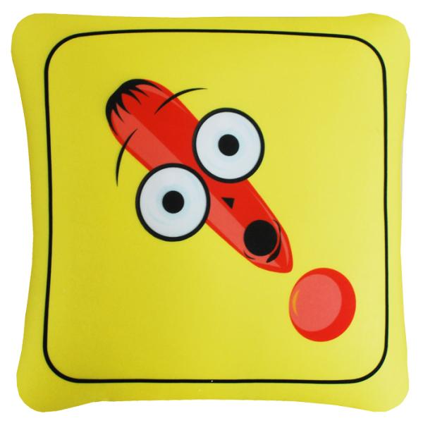 Игрушка-подушка  Внимание  р. 35х35 - Текстиль для дома артикул: 29123