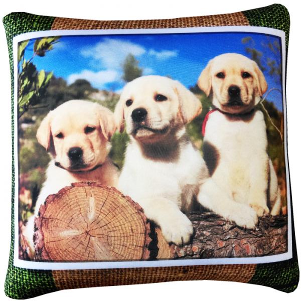 Подушка  Кошки и Собаки  р. 35х35 - Текстиль для дома артикул: 29107