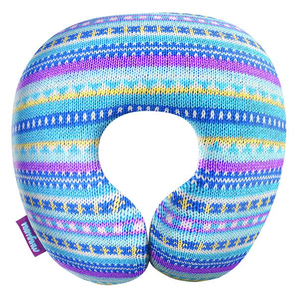 Игрушка-подушка  Бабушкино вязание  Голубой р. 29х29 - Текстиль для дома артикул: 29138