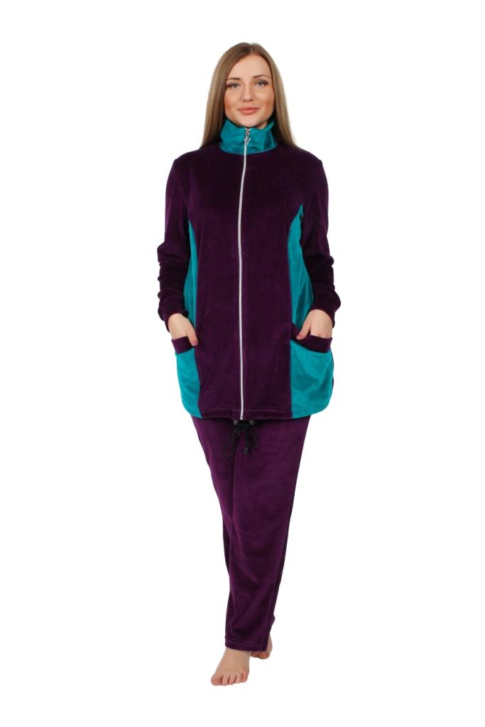 Жен. костюм арт. 16-0253 Баклажан р. 60 - Женская одежда артикул: 29287