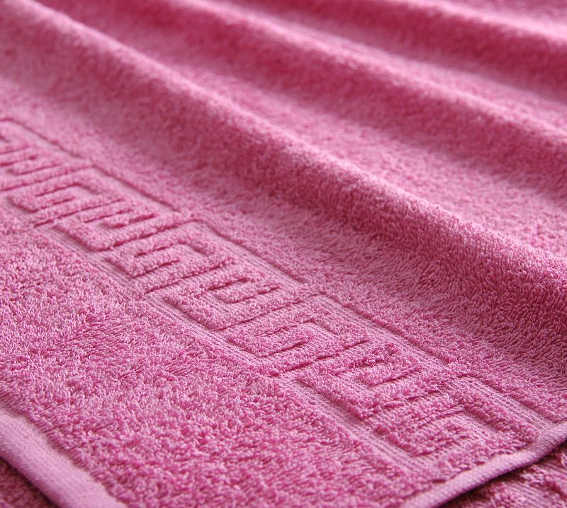 Полотенце  Греко  Фуксия р. 100х180 - Текстиль для дома артикул: 29357