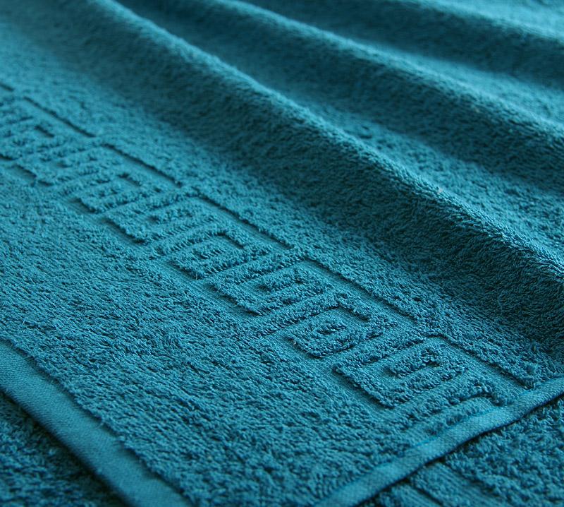 Полотенце Греко Морская волна р. 50х90Махровые полотенца<br>Плотность ткани: 400 г/кв. м.<br><br>Тип: Полотенце<br>Размер: 50х90<br>Материал: Махра