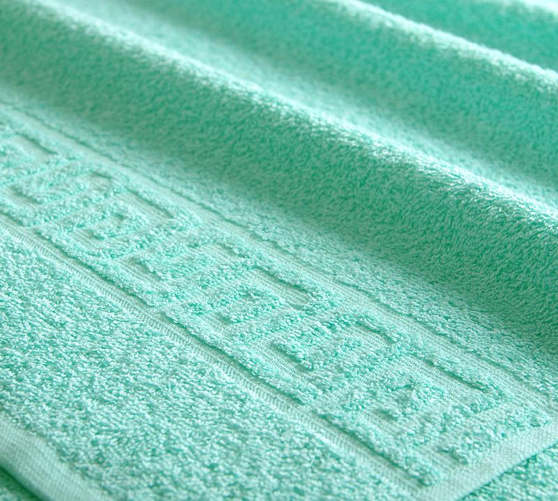 Полотенце Греко Мятный р. 70х140Махровые полотенца<br>Плотность ткани: 400 г/кв. м.<br><br>Тип: Полотенце<br>Размер: 70х135<br>Материал: Махра