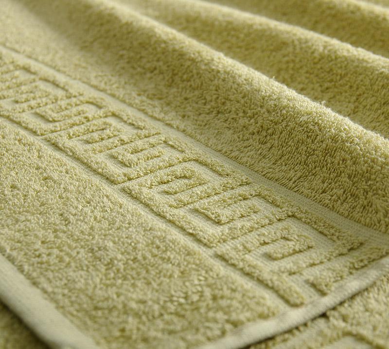 Полотенце  Греко  Оливковый р. 100х180 - Текстиль для дома артикул: 29373