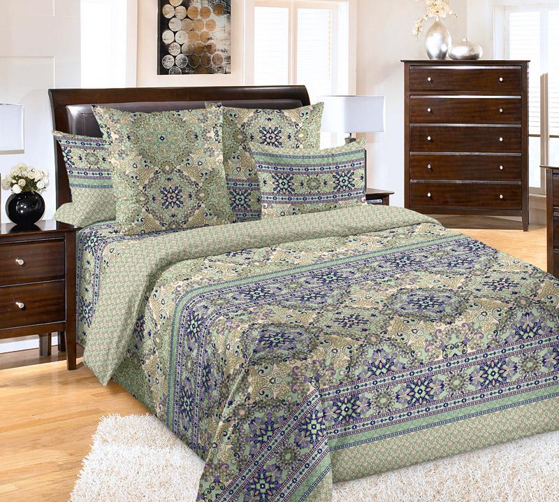 КПБ Восточные сказки р. 1,5-сп.Распродажа постельного белья<br>Плотность ткани: 110 г/кв. м <br>Пододеяльник: 215х143 см - 1 шт. <br>Простыня: 214х145 см - 1 шт. <br>Наволочка: 70х70 см - 2 шт.<br><br>Тип: КПБ<br>Размер: 1,5-сп.<br>Материал: Перкаль