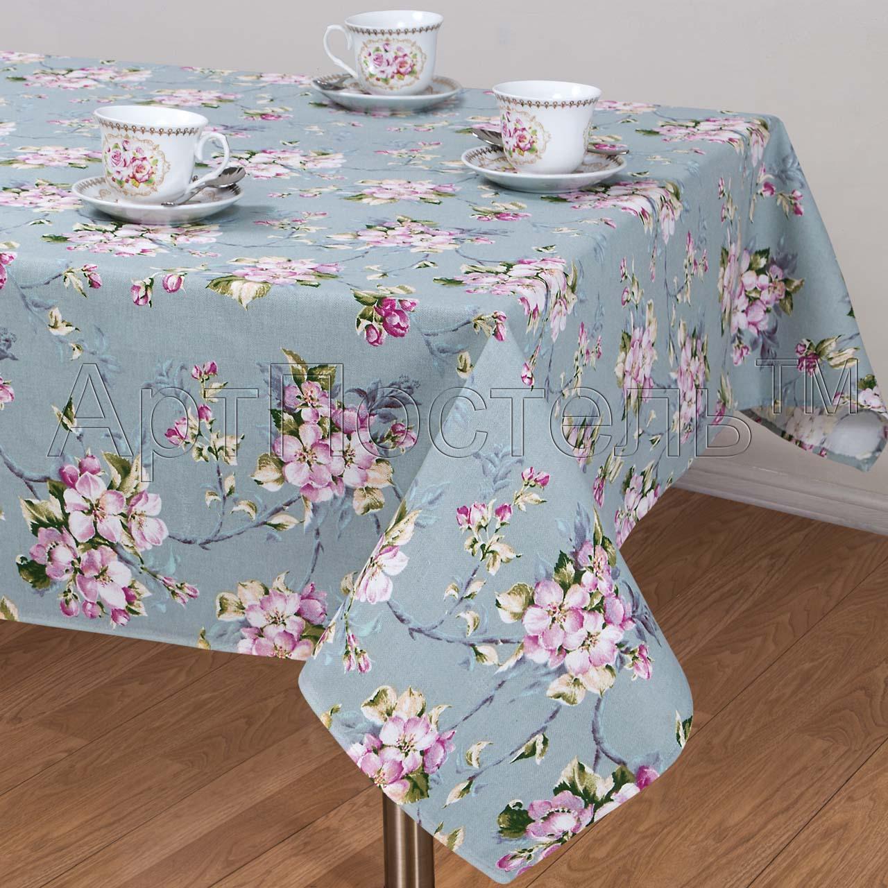 Скатерть  Живопись  р. 260х145 - Текстиль для дома артикул: 29825