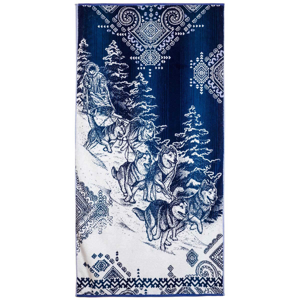 Полотенце Упряжка р. 70х140Махровые полотенца<br>Плотность ткани: 420 г/кв. м<br><br>Тип: Полотенце<br>Размер: 70х140<br>Материал: Махра