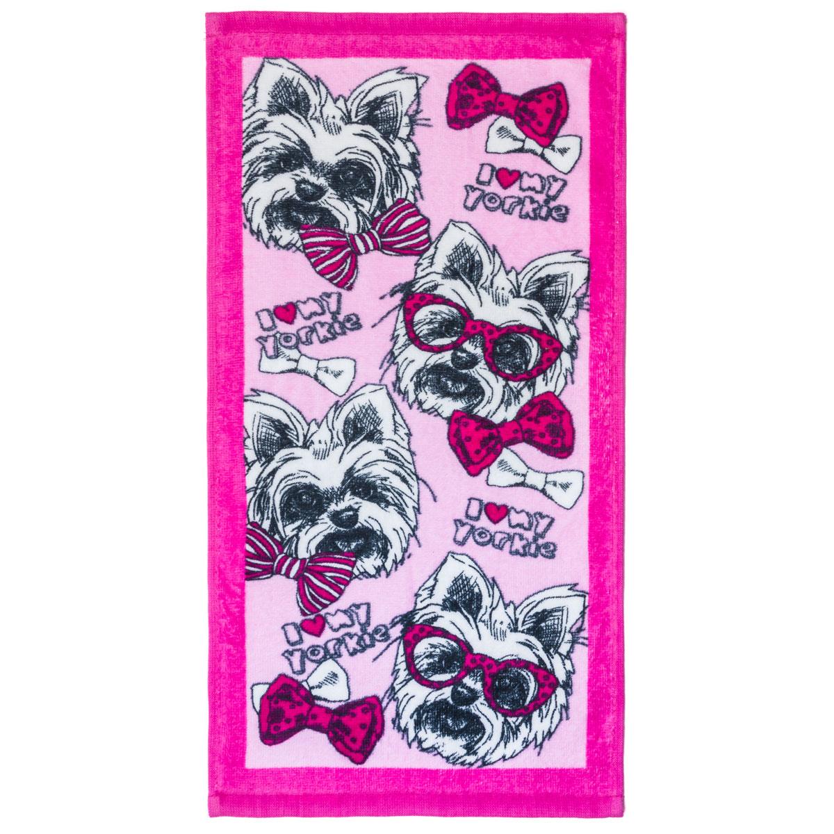 Полотенце арт. 04-0081 Розовый р. 25х50Махровые полотенца<br>Плотность ткани: 330 г/кв. м<br><br>Тип: Полотенце<br>Размер: 25х50<br>Материал: Махра