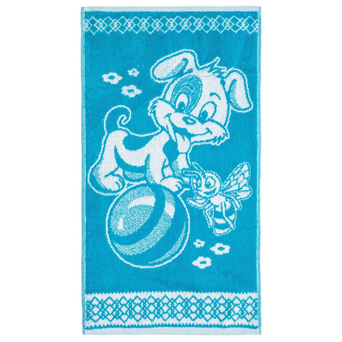 Полотенце арт. 04-0084 Бирюзовый р. 30х60Махровые полотенца<br>Плотность ткани: 380-400 г/кв. м<br><br>Тип: Полотенце<br>Размер: 30х60<br>Материал: Махра