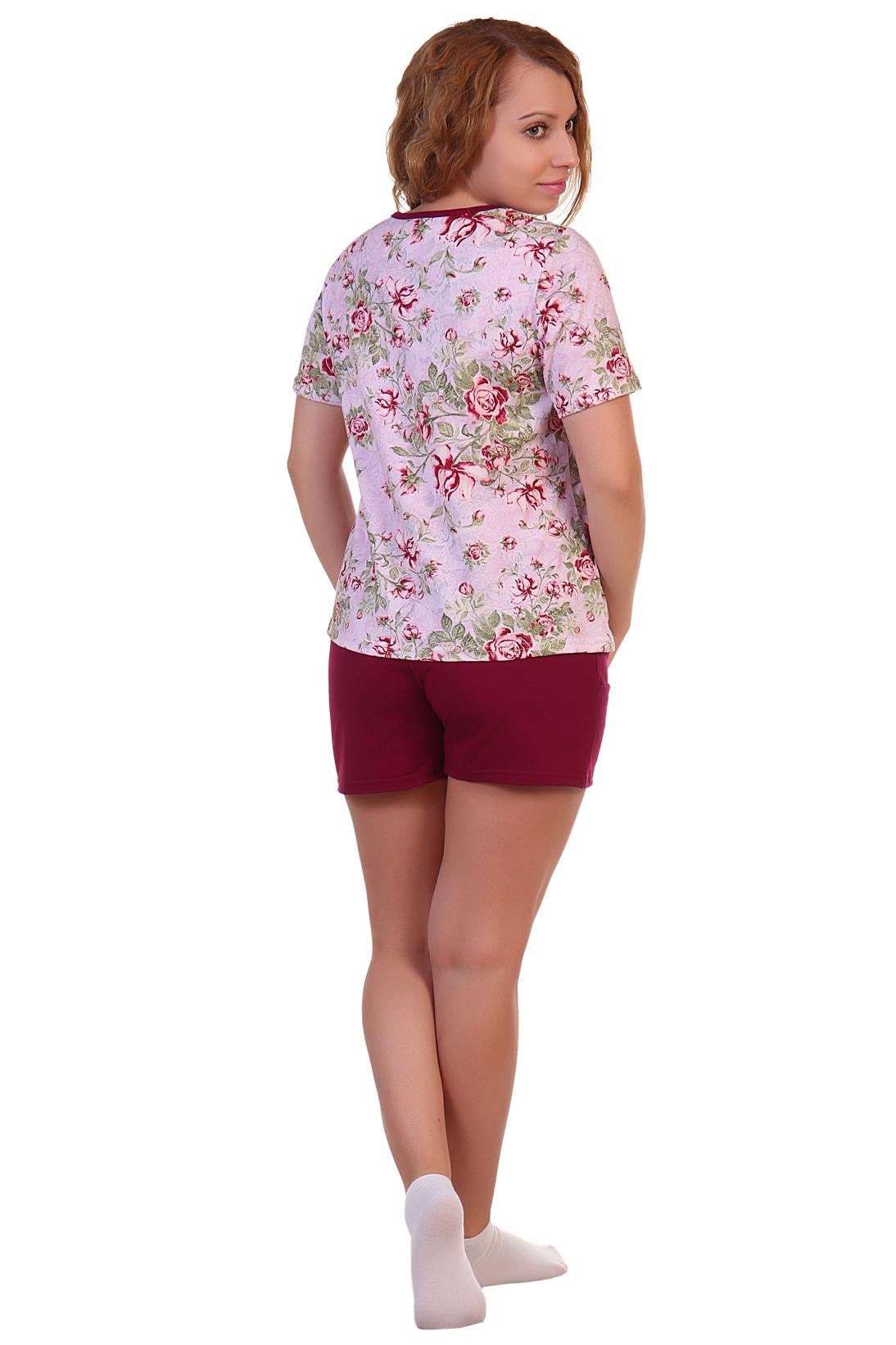Жен. костюм арт. 16-0261 розовый р.