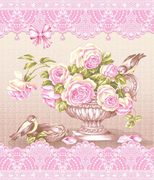 Вафельное полотенце Пташки р. 50х60Вафельные полотенца<br>Плотность ткани: 170 г/кв. м<br><br>Тип: Вафельное полотенце<br>Размер: 50х60<br>Материал: Вафельное полотно