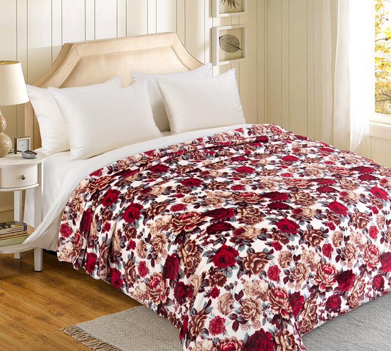 Плед  Букет роз   р. 200х240 - Текстиль для дома артикул: 34617