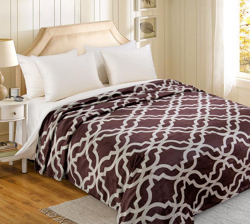 Плед  Мокко   р. 200х240 - Текстиль для дома артикул: 34621
