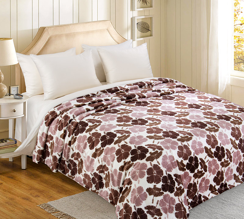 Плед  Осенние цветы   р. 200х240 - Текстиль для дома артикул: 34623
