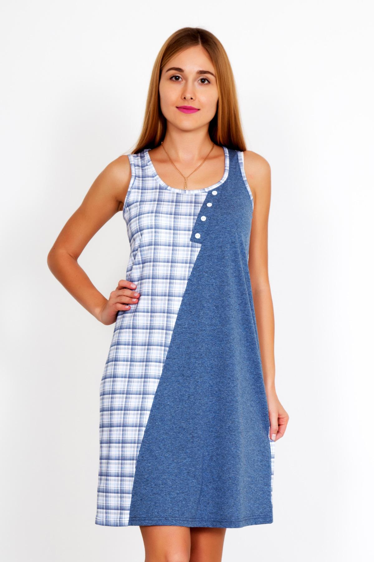 Жен. платье Лада р. 56Платья<br>Факт. ОГ: 108 см <br>Факт. ОТ: 110 см <br>Факт. ОБ: 120 см <br>Длина по спинке: 101 см<br><br>Тип: Жен. платье<br>Размер: 56<br>Материал: Кулирка