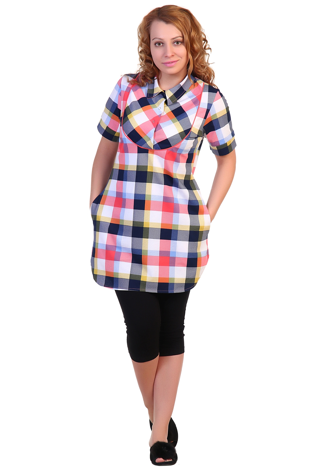 Жен. туника арт. 16-0295 р. 64 - Женская одежда артикул: 34153