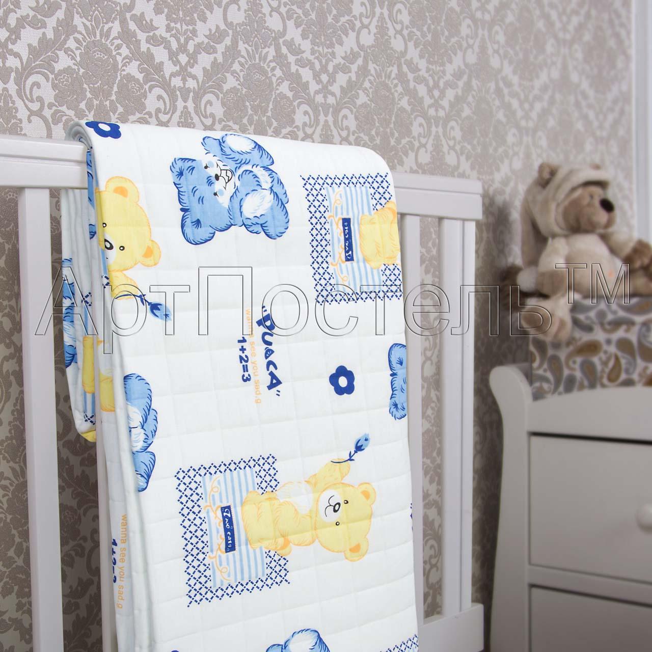 Покрывало  Медвежата  р. 140х200 - Текстиль для дома артикул: 33959