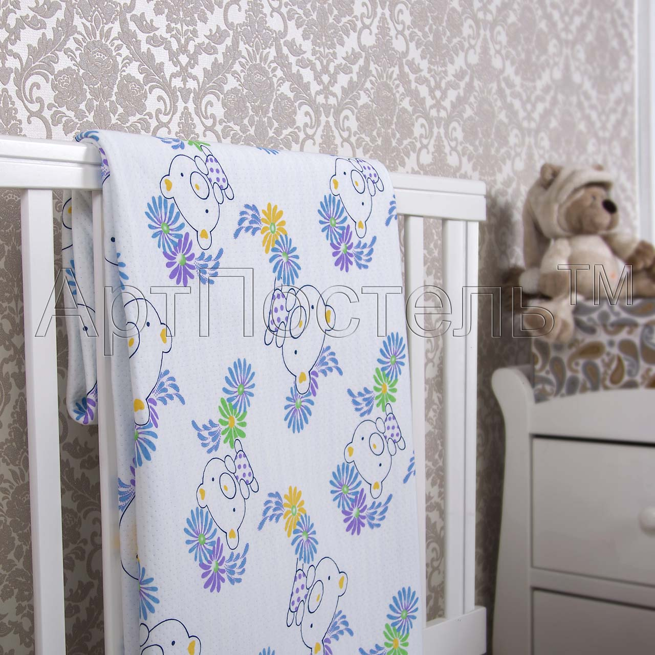 Покрывало  Топтыжка  р. 140х200 - Текстиль для дома артикул: 33973