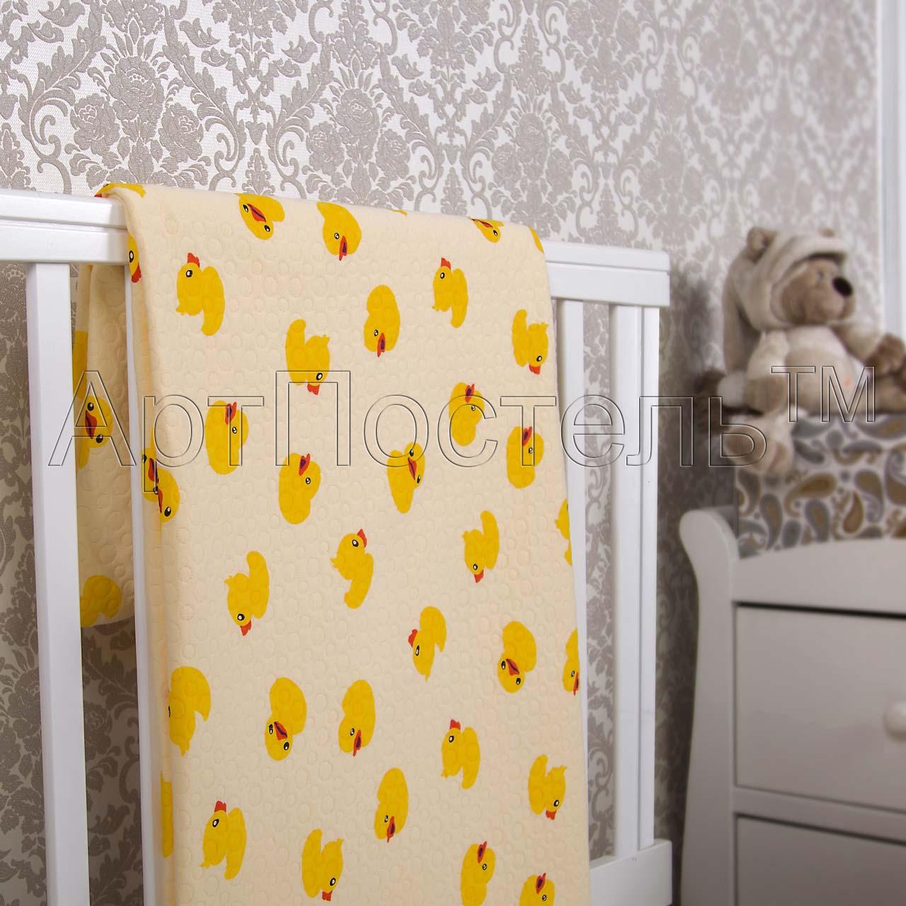 Покрывало  Утенок  р. 140х200 - Текстиль для дома артикул: 33975
