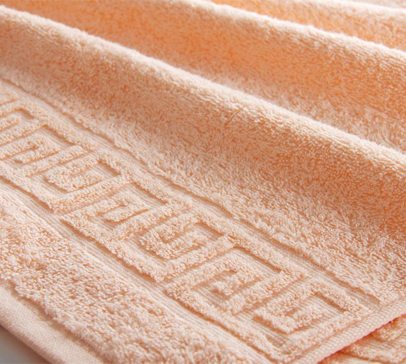 Полотенце  Греко Персиковый  р. 70х135 - Текстиль для дома артикул: 34199