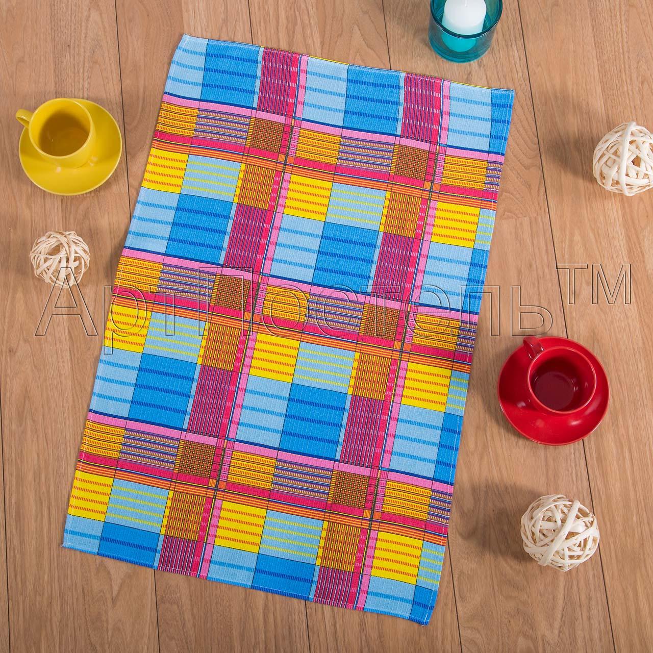 Вафельное полотенце Ямайка р. 50х70Вафельные полотенца<br>Плотность: 160 г/кв. м<br><br>Тип: Вафельное полотенце<br>Размер: 50х70<br>Материал: Вафельное полотно