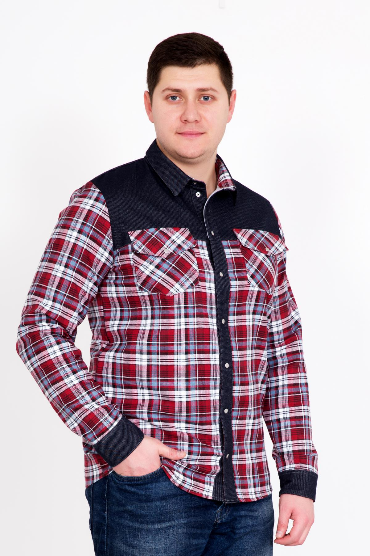 Муж. рубашка Генри р. 54Рубашки<br><br><br>Тип: Муж. рубашка<br>Размер: 54<br>Материал: Фуле