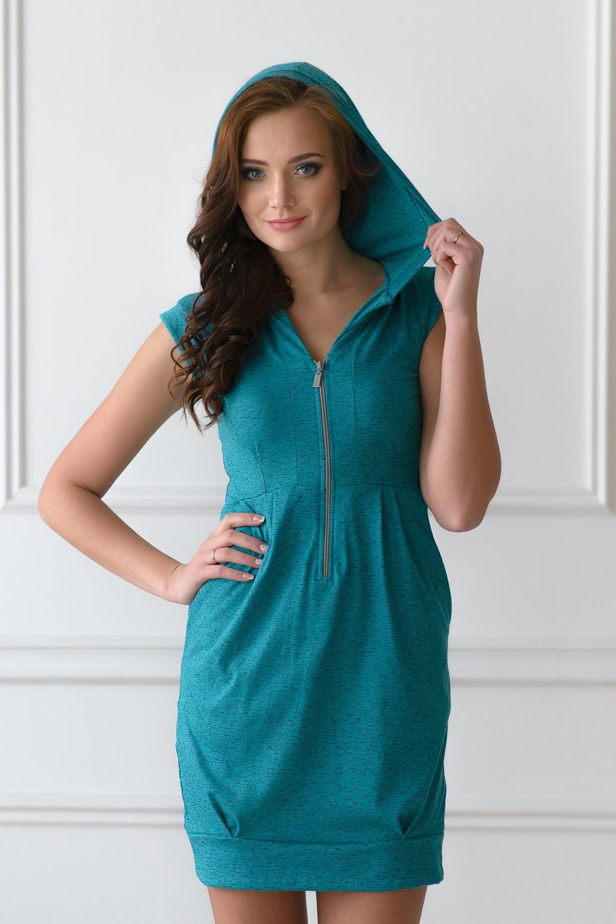 Жен. платье арт. 19-0108 Изумрудный р. 50Платья<br>Факт. ОГ: 98 см <br>Факт. ОТ: 88 см <br>Факт. ОБ: 106 см <br>Длина по спинке: 92 см<br><br>Тип: Жен. платье<br>Размер: 50<br>Материал: Трикотаж