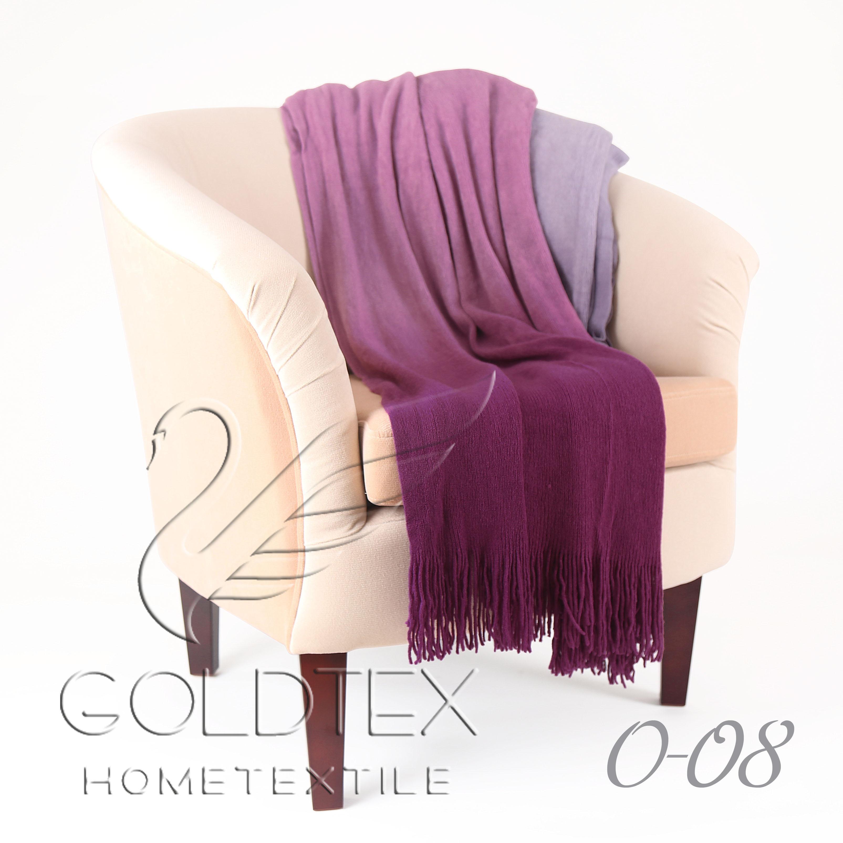 Плед Gentle Фиолетовый р. 150х200Пледы<br><br><br>Тип: Плед<br>Размер: 150х200<br>Материал: Акрил