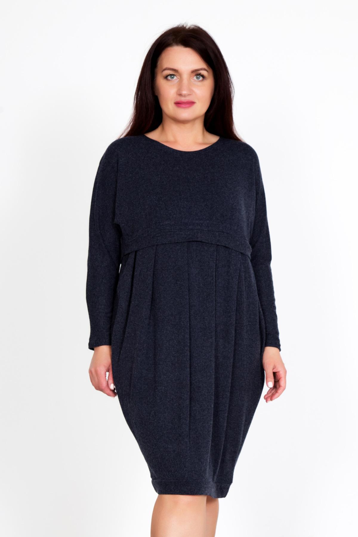 Жен. платье Доти р. 54Распродажа женской одежды<br>Обхват груди: 108 см <br>Обхват талии: 88 см <br>Обхват бедер: 116 см <br>Длина по спинке: 91 см <br>Рост: 167 см<br><br>Тип: Жен. платье<br>Размер: 54<br>Материал: Хамур