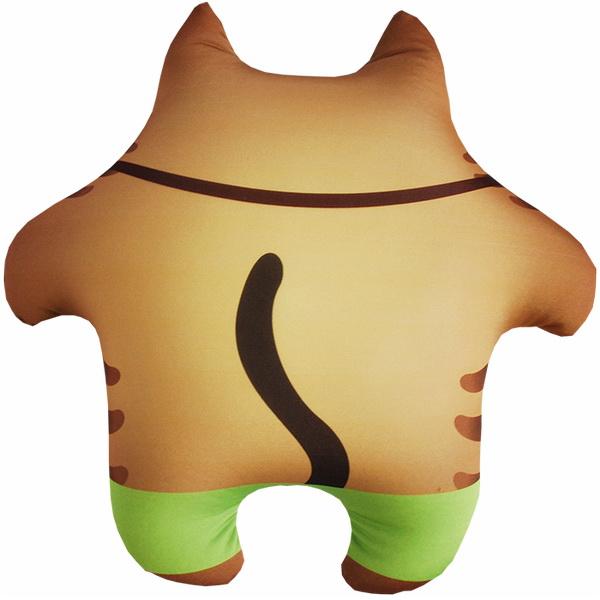 Игрушка-подушка кот фотограф р.