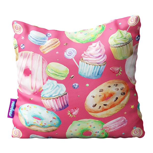 Подушка сладости розовый р.