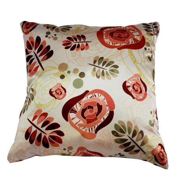 Подушка цветы арт. 20-0268 р. 35х35
