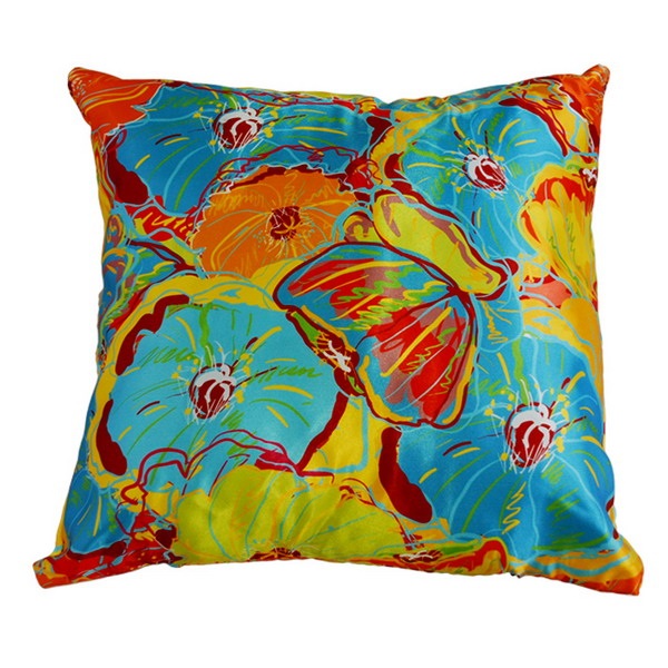 Подушка цветы арт. 20-0257 р. 35х35