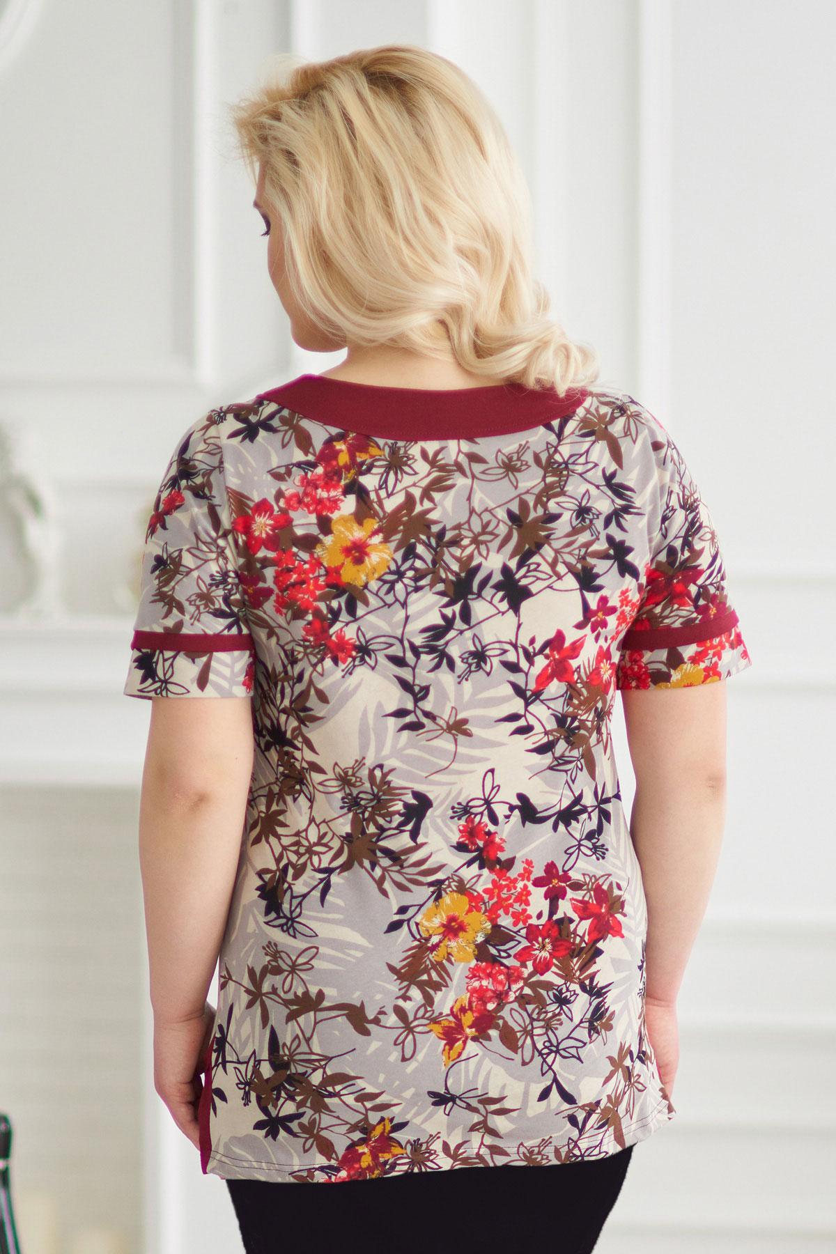 Жен. блуза арт. 19-0146