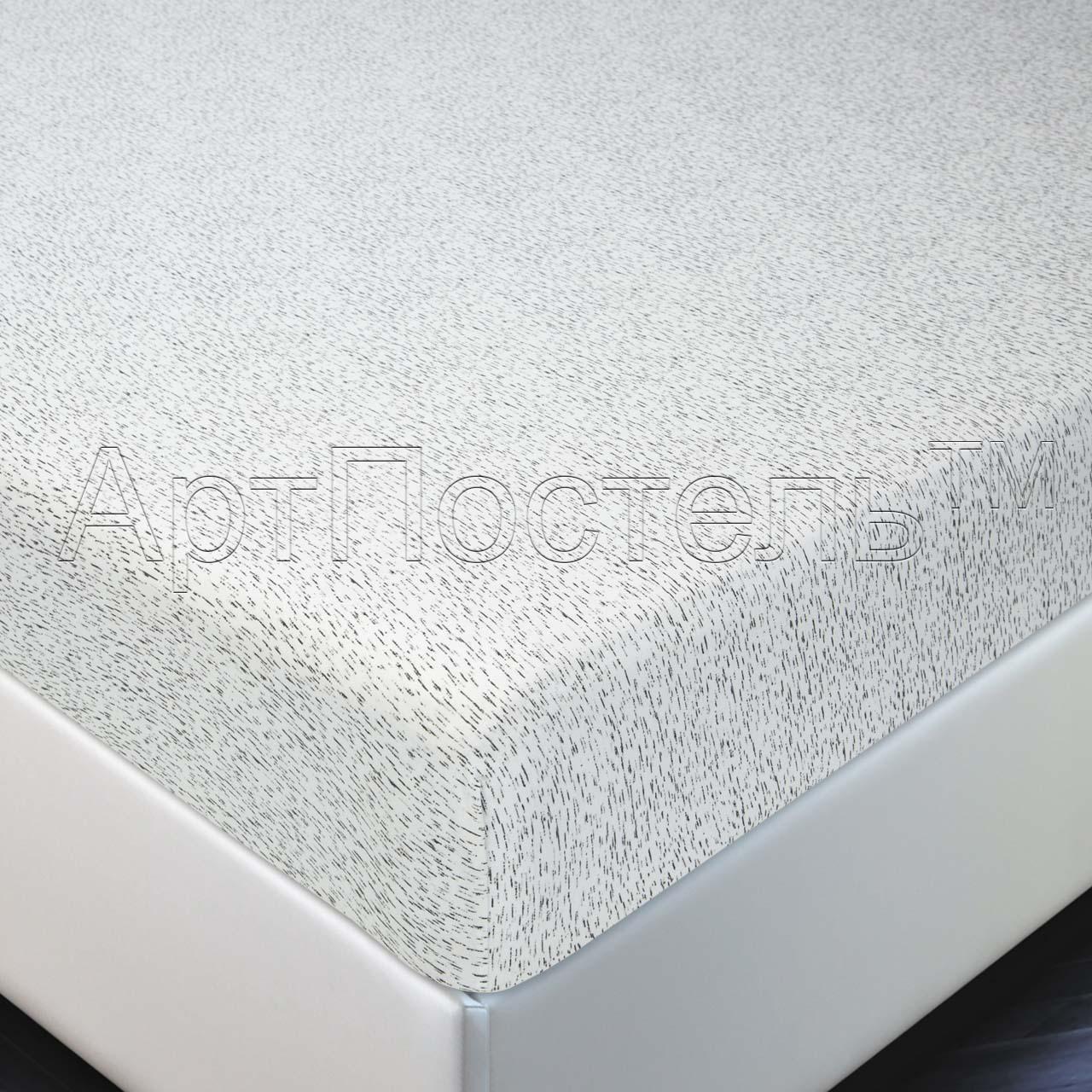 Простыня на резинке Березка р. 180х200Простыни<br>Плотность ткани: 140 г/кв. м<br><br>Тип: Простыня на резинке<br>Размер: 180х200<br>Материал: Кулирка
