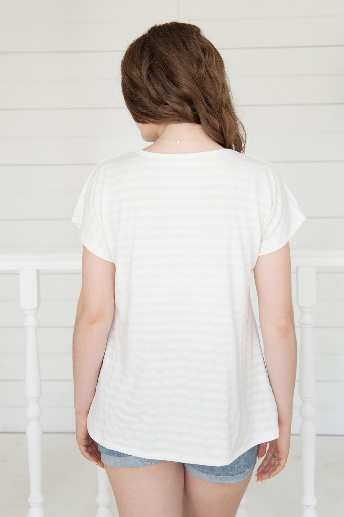 Жен. футболка арт. 19-0161
