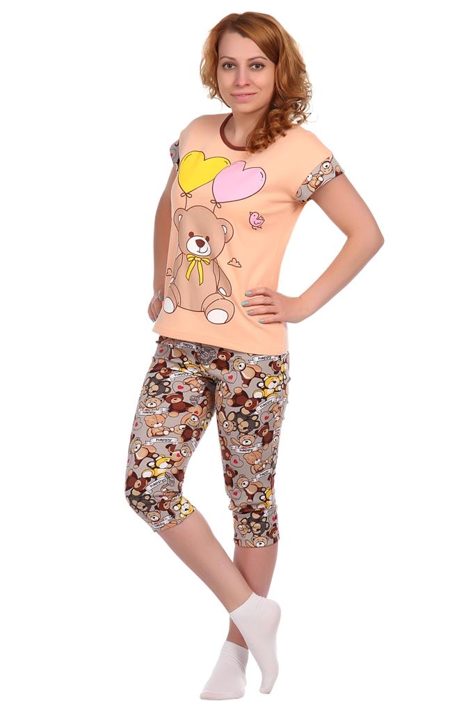 Жен. костюм арт. 16-0334 Перисковый р. 50 футболки