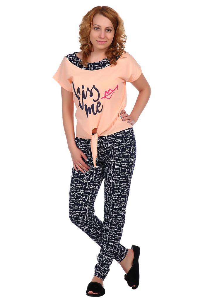 Жен. костюм арт. 16-0335 Перисковый р. 56 футболки