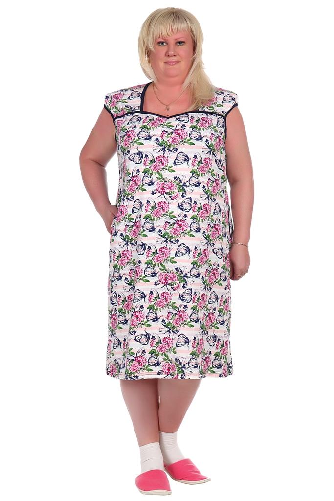 Жен. платье арт. 16-0352 р. 60Платья<br>Факт. ОГ: 124 см <br>Факт. ОТ: 126 см <br>Факт. ОБ: 134 см <br>Длина по спинке: 106 см<br><br>Тип: Жен. платье<br>Размер: 60<br>Материал: Кулирка