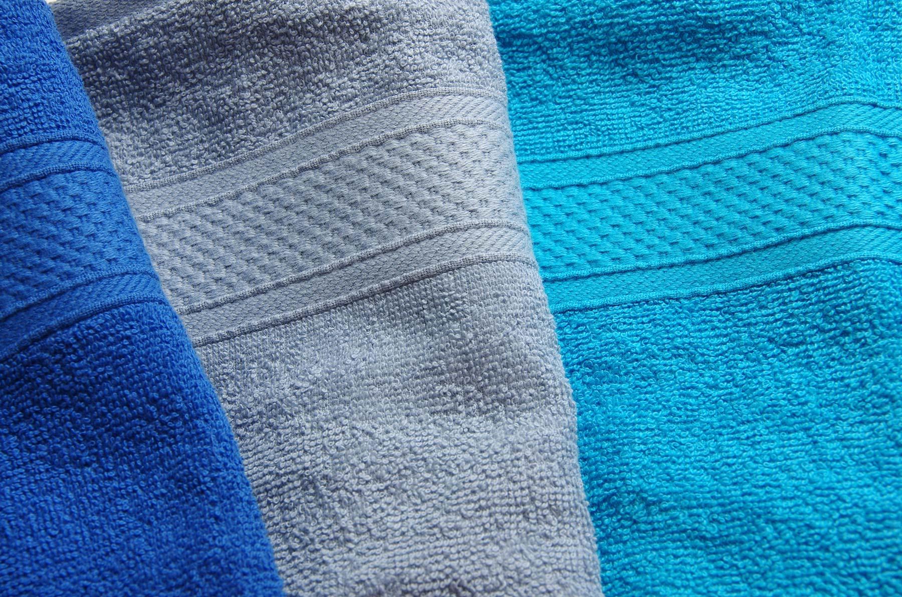Полотенце арт. 03-0693 синий