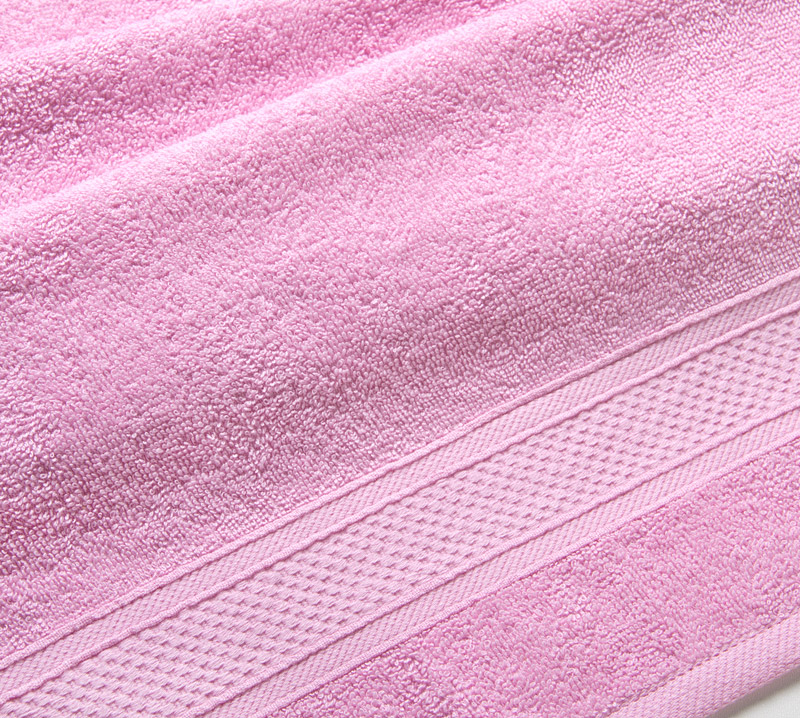 Полотенце арт. 03-0695 Светло-розовый р. 100х180Полотенца<br>Плотность ткани: 400 г/кв. м<br><br>Тип: Полотенце<br>Размер: 100х180<br>Материал: Махра