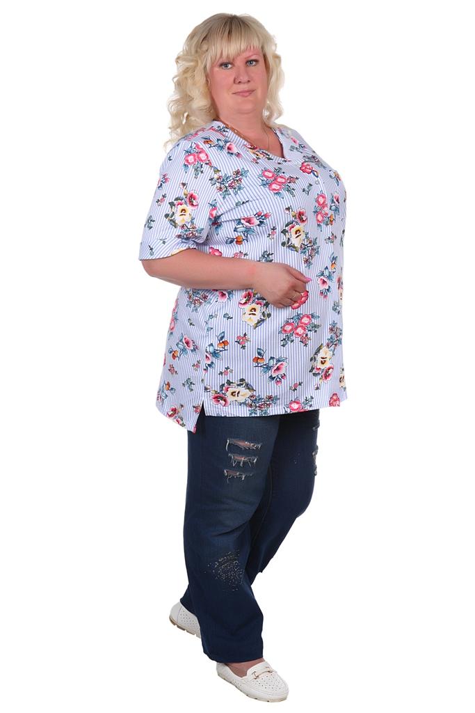 Жен. блуза арт. 16-0373