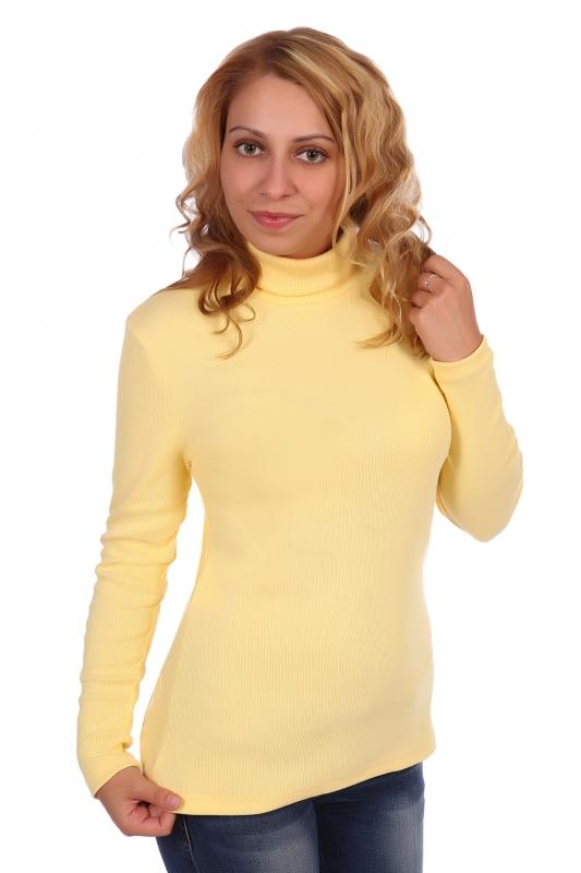 Жен. водолазка арт. 16-0390 желтый р.