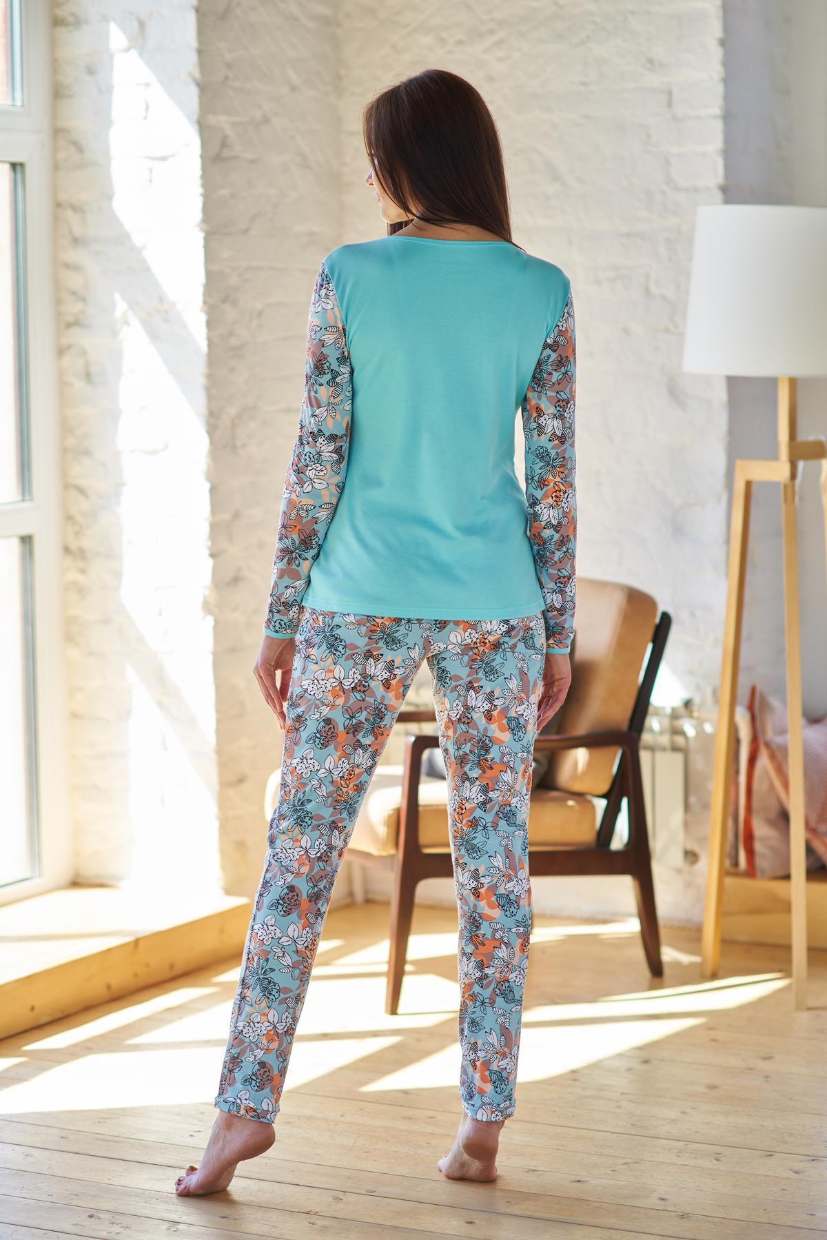 Жен. пижама арт. 19-0203