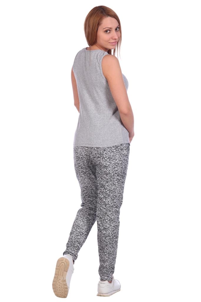 Жен. брюки арт. 16-0489 белый р. 58